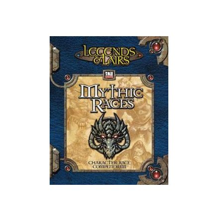 D20 LEGENDS & LAIRS: MYTHIC RACES (Sourcebook) (Hardback)