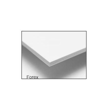FOAMBOARD FOREX 3 mm ca 35x33 cm