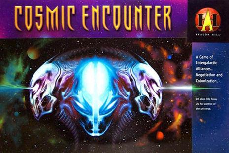 COSMIC ENCOUNTER: (Avalon Hill version 2000 - sista exemplaret!)