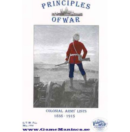 PRINCIPLES OF WAR COLONIAL ARMY LISTS 1831-1915