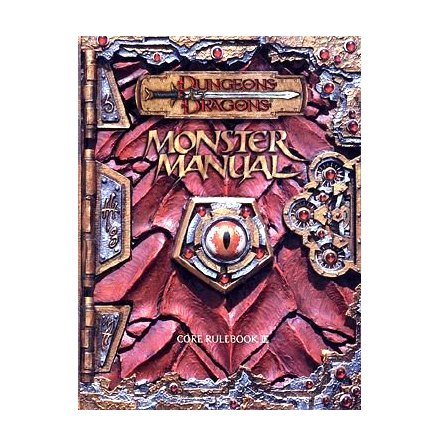 D&D MONSTER MANUAL (Hardcover) 2000
