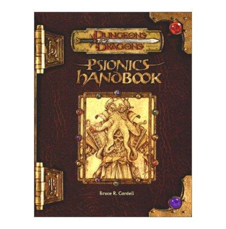 D&D PSIONICS HANDBOOK (Hardback)