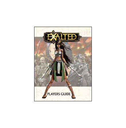 EXALTED: PLAYERS GUIDE (Hardcover)