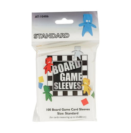 Board Game Sleeves CLEAR STANDARD (63x88 mm) (100) (Arcane Tinmen)