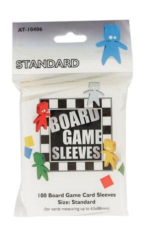 Board Game Sleeves CLEAR STANDARD (63x88 mm) (100) (Arcane Tinmen)