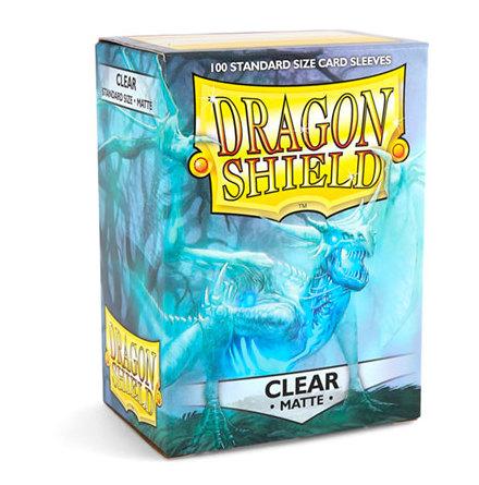 Dragon Shield MATTE Sleeves CLEAR (100)