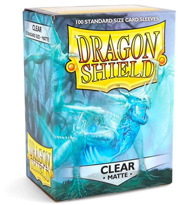 Dragon Shield MATTE Sleeves CLEAR (100)