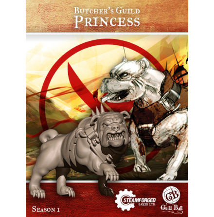 Guild Ball Butcher Princess