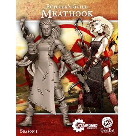 Guild Ball Butcher Meathook