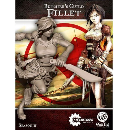 Guild Ball Butcher Fillet (Season 2)