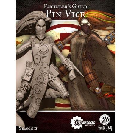 Guild Ball Engineer Pin Vice (Season 2)