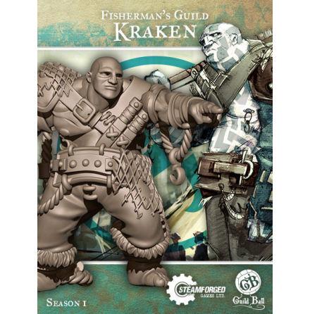 Guild Ball Fisherman Kraken