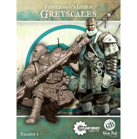 Guild Ball Fisherman Greyscales