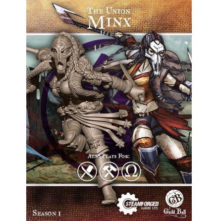 Guild Ball Union Minx