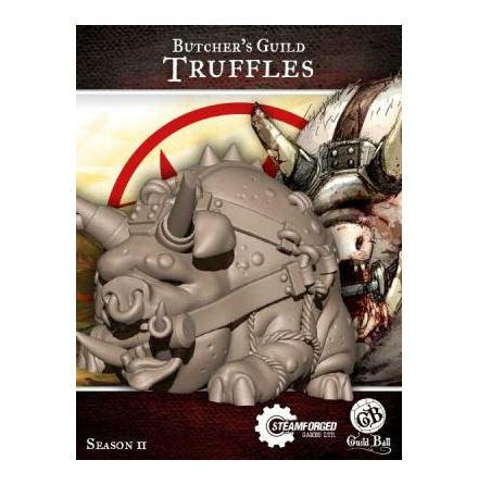 Guild Ball Truffles Butcher Mascot