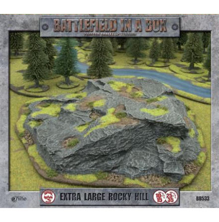 Extra Large Rocky Hill (10-35 mm scale)
