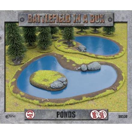 Ponds (10-35 mm skala)