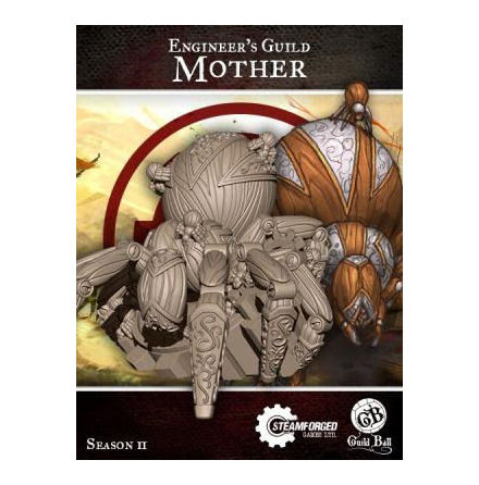 Guild Ball Engineer Mother Mascot