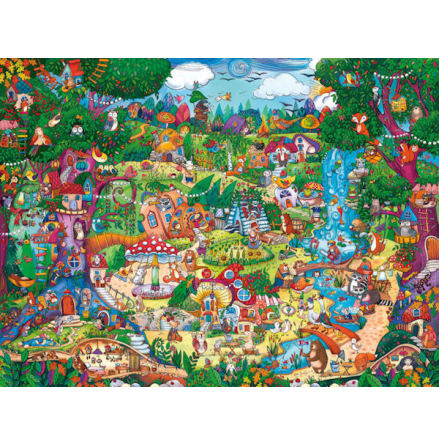 Berman, Wonderwoods 1500 pieces Triangular