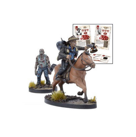 THE WALKING DEAD: Rick on Horse Booster