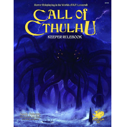 Call of Cthulhu RPG: 7th Edition