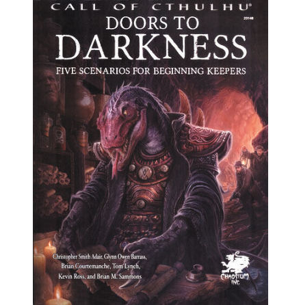 Call of Cthulhu RPG: Doors to Darkness Hardcover