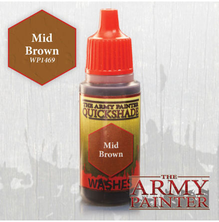 QS Mid Brown Ink (18ml)