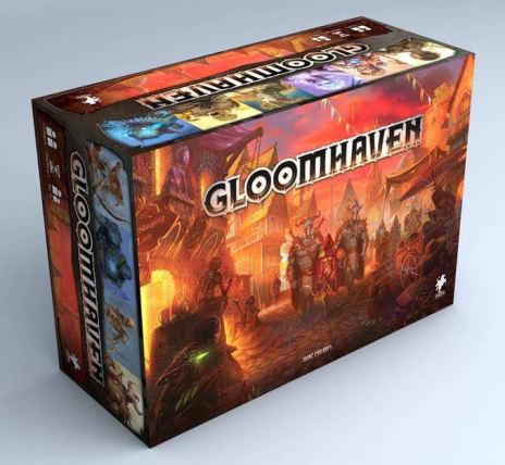 Gloomhaven 4th print (Release Nov 2018 - förboka NU, begränsat tryck!)