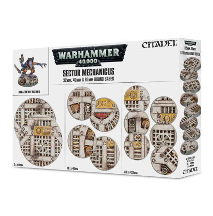 SECTOR MECHANICUS: INDUSTRIAL BASES 32, 40 & 65 mm