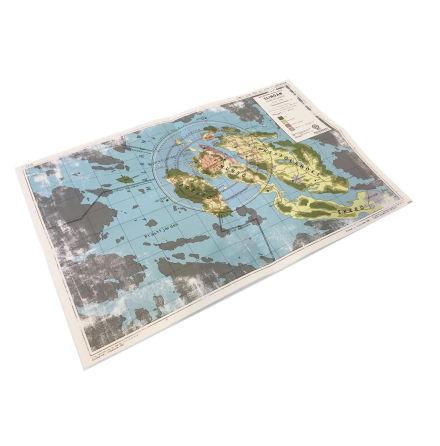 Ur Varselklotet – karta / Tales from the Loop - Map