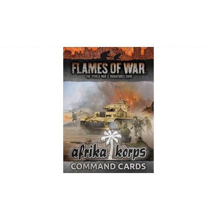 Afrika Korps Command Cards (34 cards)