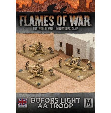 Desert Rats Bofors Light AA Troop (x 3)