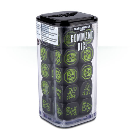 WARHAMMER 40000 8th ed: COMMAND DICE