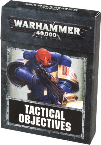 WH40K: TACTICAL OBJECTIVE CARDS 8th ed (ENG)