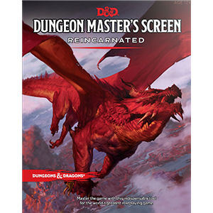 D&D 5th: Dungeon Masters Screen Reincarnated