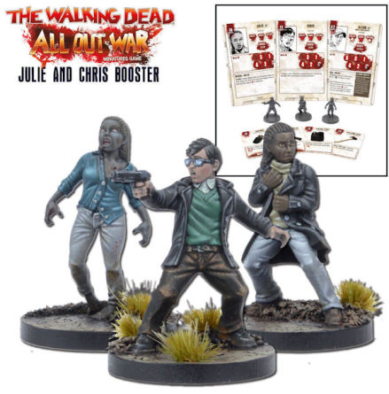 THE WALKING DEAD: Julie & Chris Booster