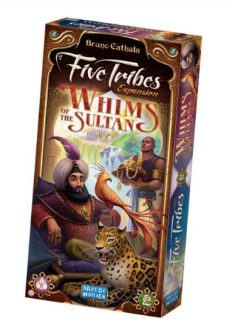 Five Tribes Exp 2: Whims of the Sultan