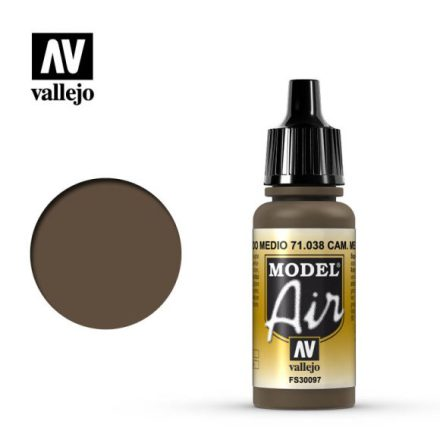 CAMOUFLAGE MEDIUM BROWN (VALLEJO MODEL AIR)