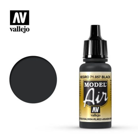BLACK (VALLEJO MODEL AIR)