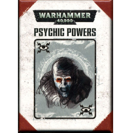 40K PSYCHIC POWERS (ENGLISH)