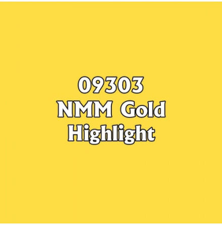 Reaper Master Paint Series: NMM Gold Highlight