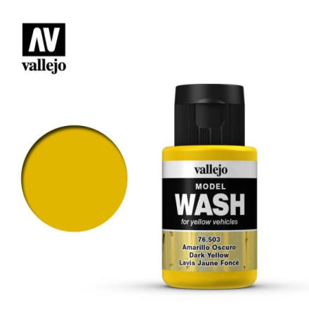 MODEL WASH 35ML. DARK YELLOW WASH