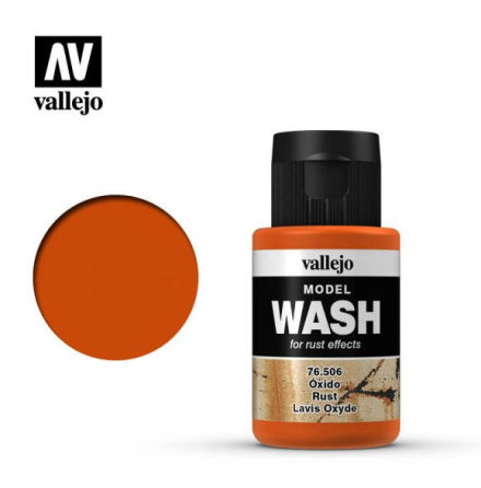 MODEL WASH 35ML. RUST WASH