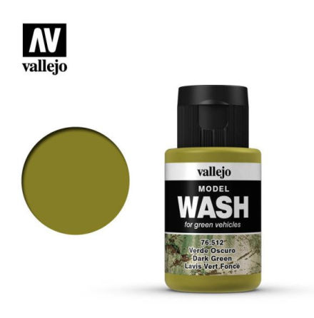 MODEL WASH 35ML. DARK GREEN WASH