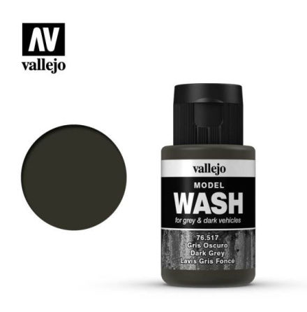 MODEL WASH 35ML. DARK GREY WASH