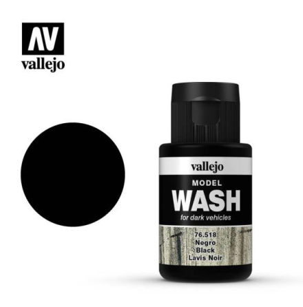 MODEL WASH 35ML. BLACK WASH