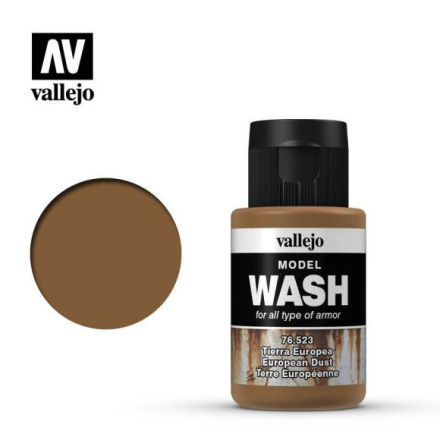 MODEL WASH 35ML. EUROPEAN DUST WASH