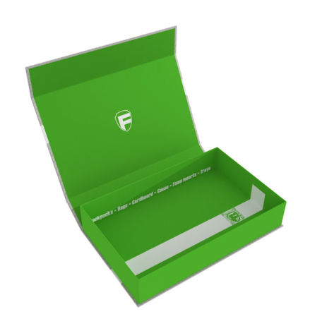 Feldherr Magnetic Box half-size 55 mm green empty