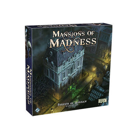 Mansions of Madness 2nd ed: Streets of Arkham Expansion