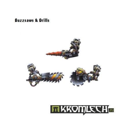 Buzzsaws & Drills